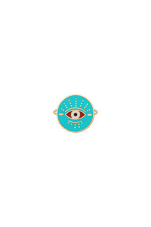 PLAYGROUND - GUARDIAN - Multicolor Eye Ring (1)