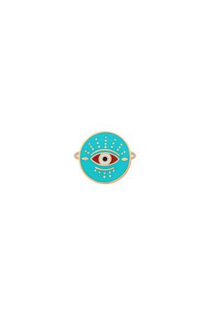 PLAYGROUND - GUARDIAN - Renkli Göz Yüzük (1)