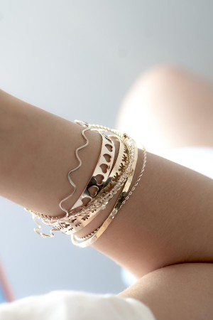 PLAYGROUND - GYPSY - Stackable Bangle Bracelets (1)