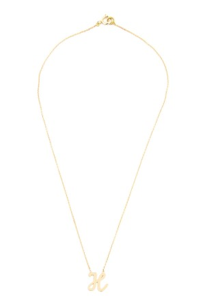 PETITE JEWELRY - H - Initial Letter Necklace