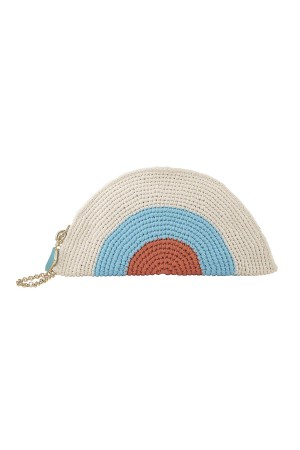 HAPPY SEASONS - HAPPY BAG - Colorful Knitted Handbag