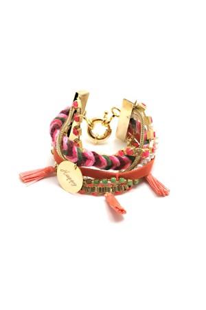PLAYGROUND - HAPPY - Layered Armparty Bracelet