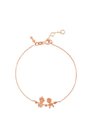 PETITE FAMILY - HAPPY TOGETHER - Dainty Boy and Girl Bracelet (1)