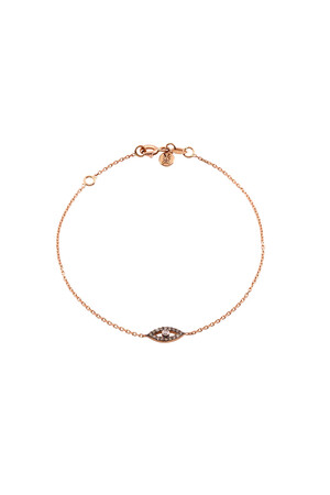 PETITE LUXE - HAZEL - Diamond Evil Eye Bracelet