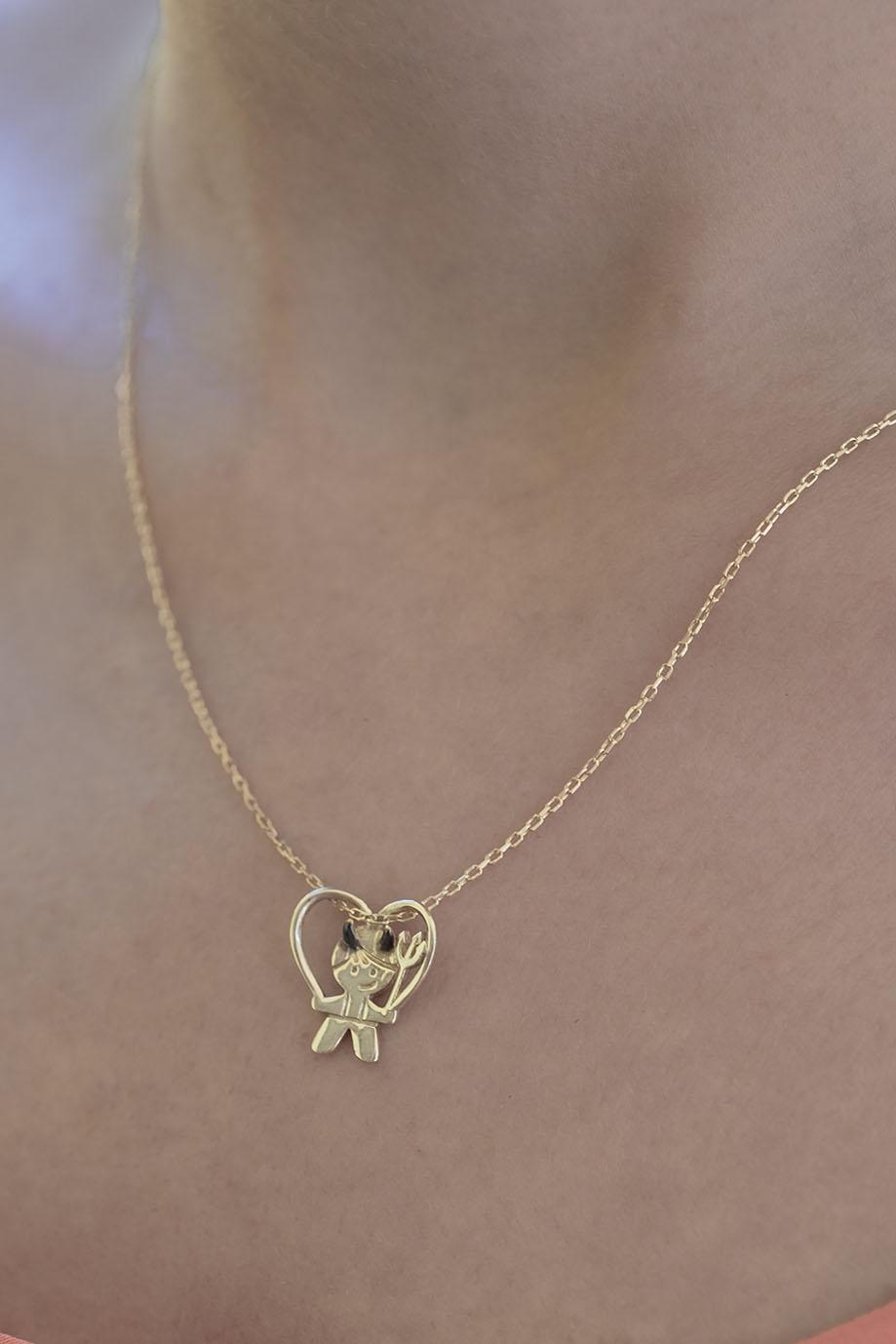 He Devil Necklace For Boy Mother Pendant Necklace App Discover our wide range of unique golden & silver personalized necklaces, rings, bracelets and more. atelier petites pierres