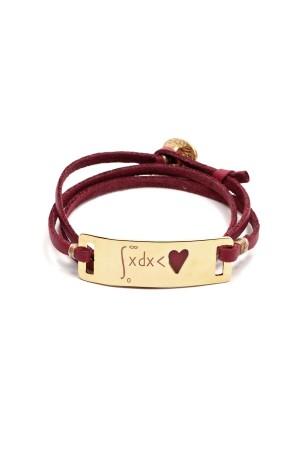 PLAYGROUND - HEART FORMULA - Enameled Bracelet