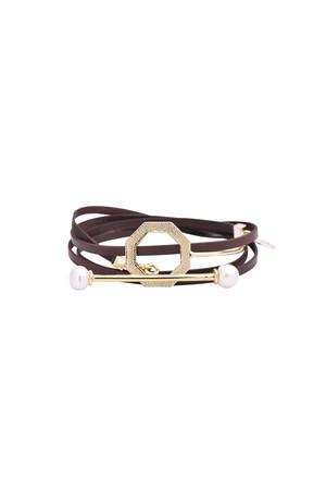 SHOW TIME - HECTAGON - Wrap Bracelet