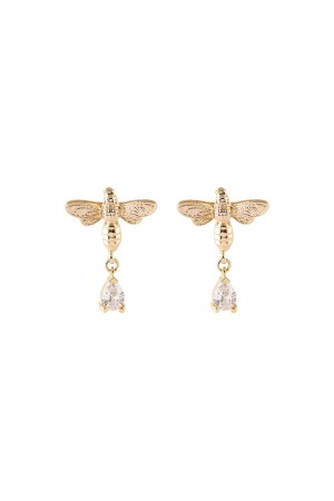 SHOW TIME - HONEY BEE - CZ Earrings