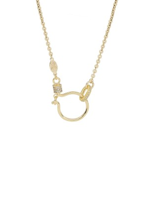 PETIT CHARM - HOOK CABLE - Chain Charm Necklace