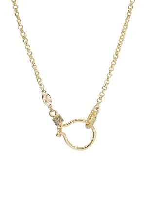 PETIT CHARM - HOOK ROLLO - Charm Necklace