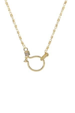 PETIT CHARM - HOOK SNAIL - Charm Necklace