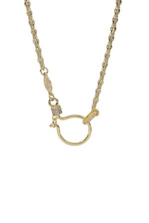 PETIT CHARM - HOOK WHEAT - Charm Necklace
