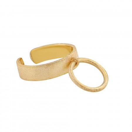 HOOP - Silver Ring - Thumbnail