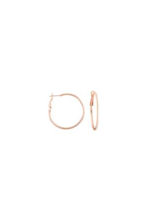 COMFORT ZONE - HOOP BASIC - Hoop Earrings (1)