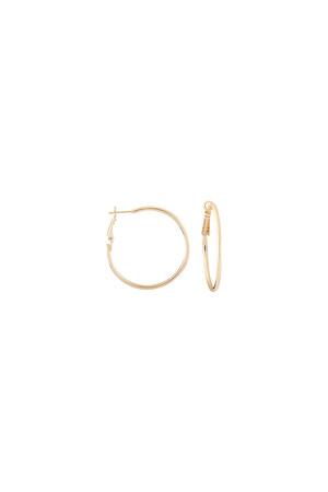 COMFORT ZONE - HOOP BASIC - Hoop Earrings