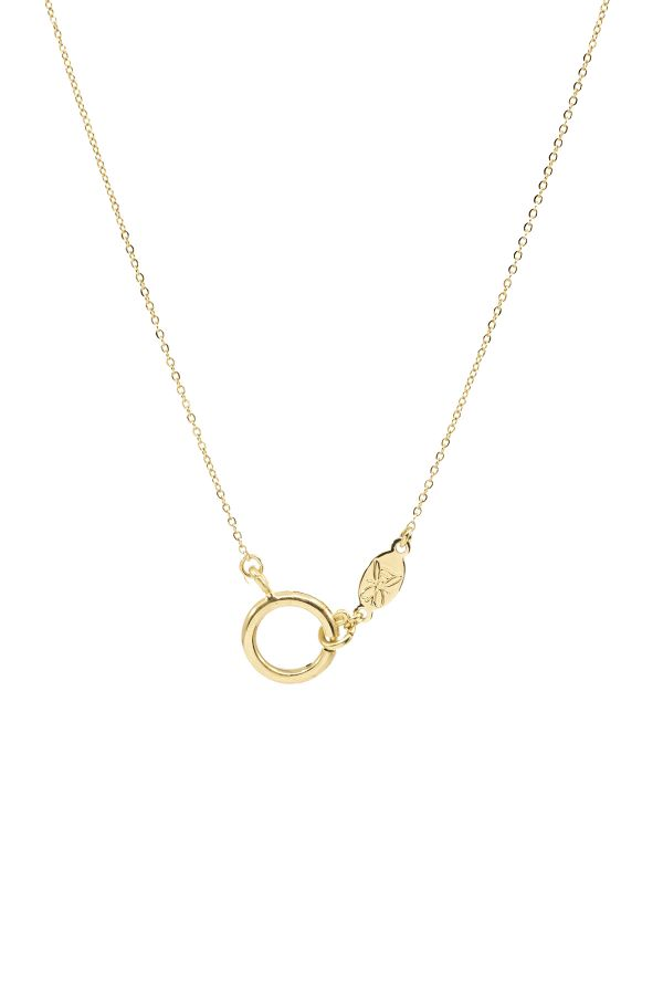 HOOP CLASP - Cable Chain