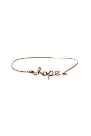 BAZAAR - HOPE - Motto Bileklik