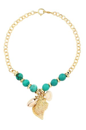 SHOW TIME - INDIVIA - Turquoise Necklace
