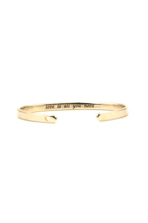 PETITE JEWELRY - INSIDER - Custom Engraved Cuff Bracelet