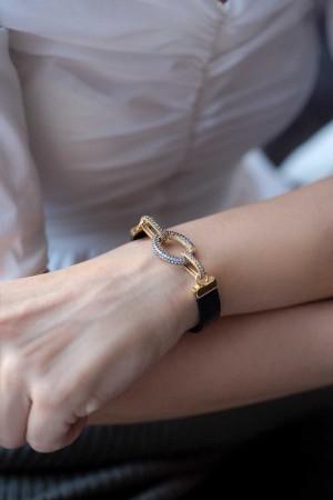 SHOW TIME - INVISIBLE - Taşlı Kilitli Bileklik (1)