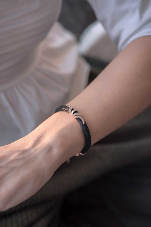 BAZAAR - IVY - Leather Bracelet
