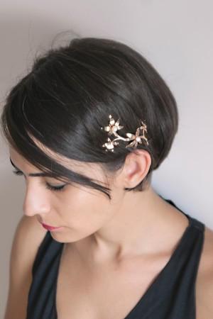 SHOW TIME - JASMINE TIARA - Leaf Bridal Tiara (1)