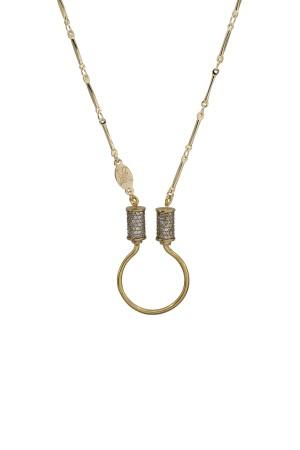 PETIT CHARM - JOINT BARS - Charm Necklace