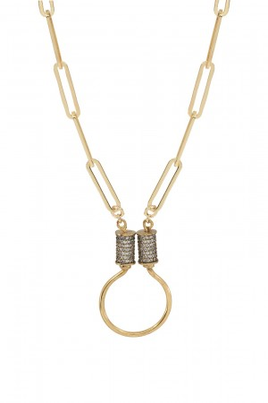PETIT CHARM - JOINT LINKS - Handmade Charm Necklace