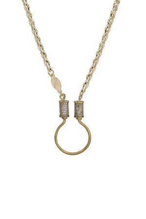 PETIT CHARM - JOINT WHEAT - Charm Necklace