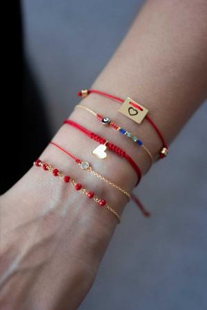 COMFORT ZONE - KABBALAH - Red String Bracelet (1)