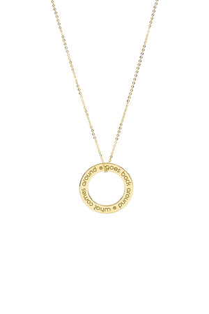 PLAYGROUND - KARMA - Inspirational Pendant Necklace