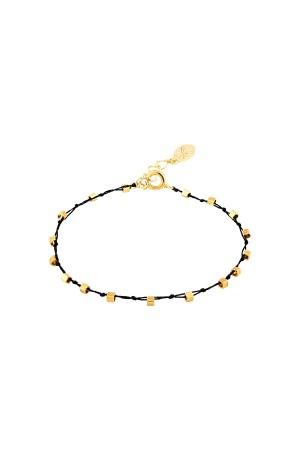 COMFORT ZONE - KNOTS - BLACK - Hand Braided Bracelet