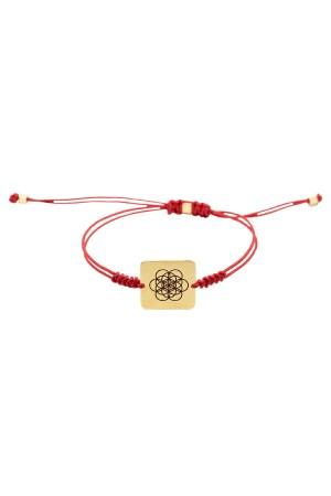 PLAYGROUND - LA VIDA - Red - Sliding Knot Bracelet