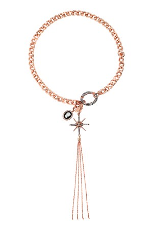 SHOW TIME - LADY STAR - Charm Necklace (1)