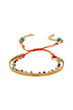 PLAYGROUND - LAUGH - Sliding Knot Cuff Bracelet (1)
