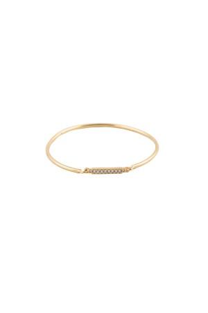 COMFORT ZONE - LINE BOLD - Dainty Bangle Bracelet