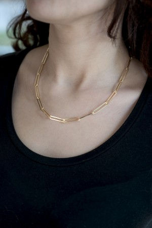 COMFORT ZONE - LINKS - Chain Necklace (1)