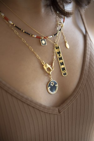PETIT CHARM - LOBSTER CLAW - Link Chain (1)