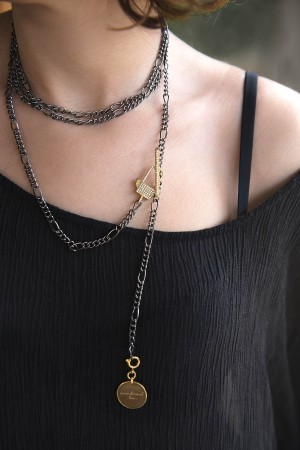 SHOW TIME - LOCKED - Personalized Vintage Necklace (1)