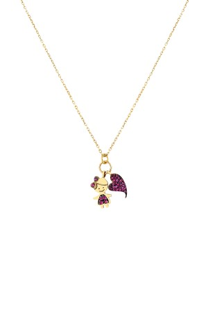 PETITE FAMILY - LOLA BIG HEART - Charm Necklace