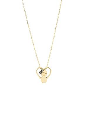 PETITE FAMILY - LOLA IN LOVE - Girl Heart Necklace