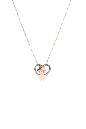 PETITE FAMILY - LOLA IN THE SKY WITH DIAMONDS - Diamond Baby Girl Necklace (1)