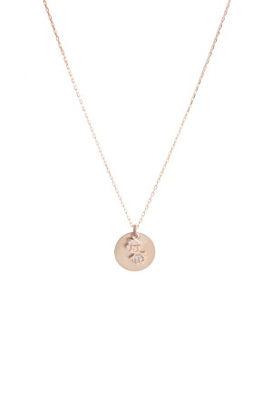 PETITE FAMILY - LOLA MINI - Personalized Mini Disc Necklace (1)