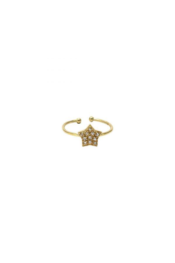 LONELY STAR GOLD - Ayarlanabilir Yüzük