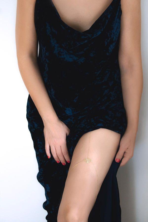 LOTUS WOMAN - Thigh Chain
