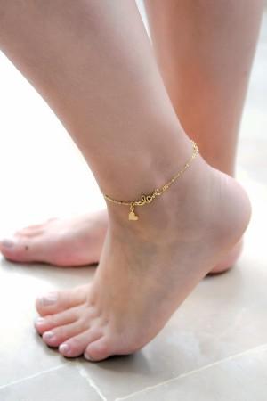 BAZAAR - LOVE - Anklet (1)