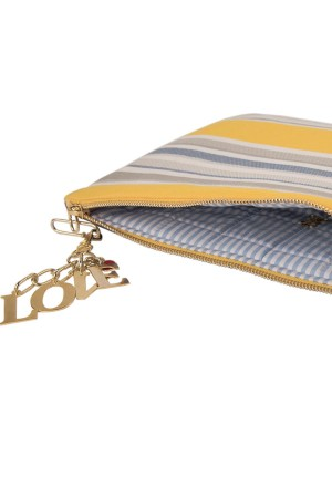 LOVE DENIM BAG - Clutch Bag - Thumbnail
