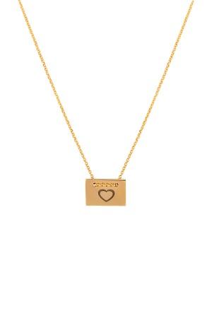 PETITE JEWELRY - LOVE LETTER - Minimalistic Necklace