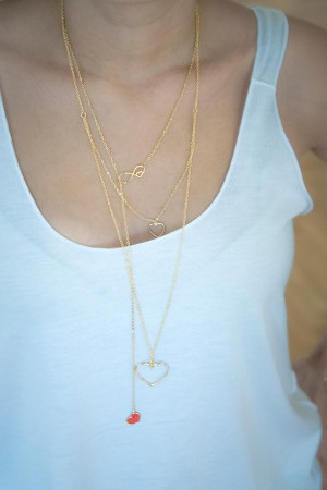 PLAYGROUND - LOVE ME TENDER - Layering Necklaces (1)