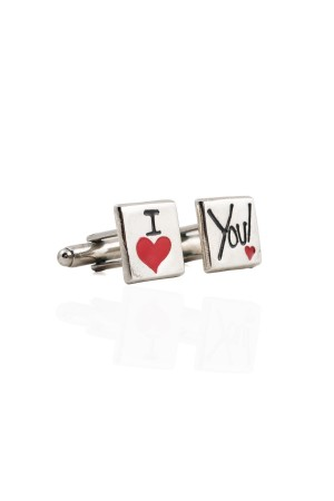 BAZAAR - LOVE YOU - Cufflinks
